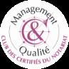 Management qualité - Club des certifiés du Notariat